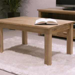 Homestyle Opus Solid Oak 3′ x 2′ Coffee Table