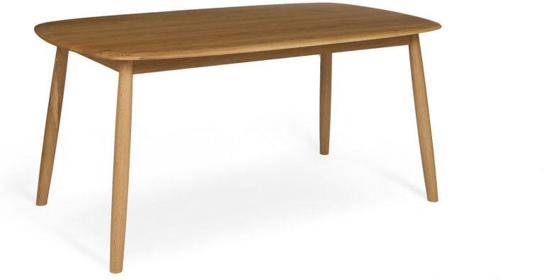 Malmo Scandi Style 160cm Oak Dining Table