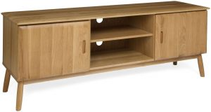 Malmo Scandi Style Oak 2 Door TV Unit