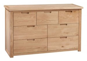Homestyle Moderna Oak 7 Drawer Chest