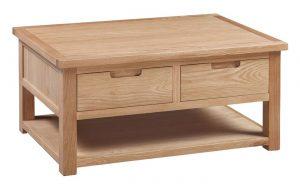 Homestyle Moderna Oak Coffee Table