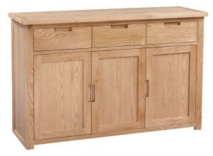 Homestyle Moderna Oak Large Sideboard