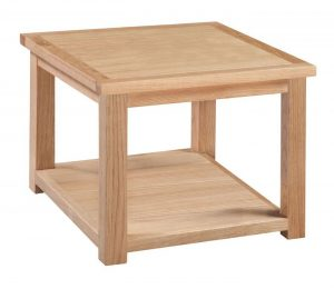 Homestyle Moderna Oak Lamp Table | Fully Assembled