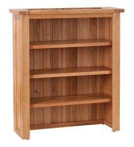 Besp-Oak Vancouver Oak Buffet Dresser Top with 3 Shelves | Fully Assembled