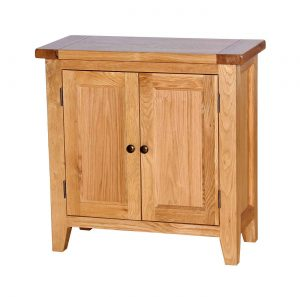 Besp-Oak Vancouver Oak 2 Door Sideboard | Fully Assembled