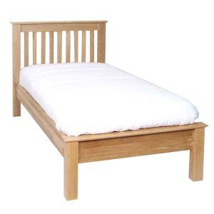 Devonshire New Oak 3′ Low Foot End Single Bed