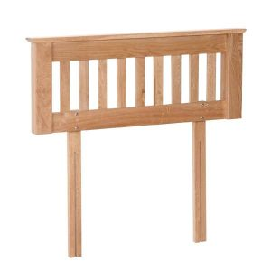 "Devonshire New Oak 4'6"" Double Bed Headboard"