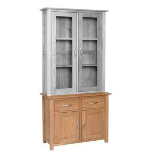 Devonshire New Oak 3′ Sideboard with 2 Doors & 2 Drawers (BASE ONLY) | Fully Assembled