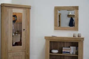 Opus Oak Small Wall Mirror 60cm x 60cm