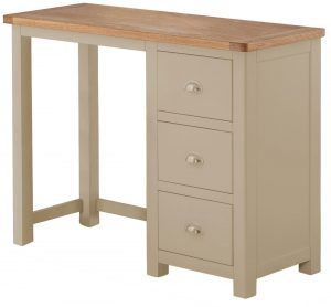 Classic Portland Painted Pebble Dressing Table