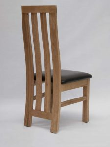 Paris Oak Dining Chair (Pair)