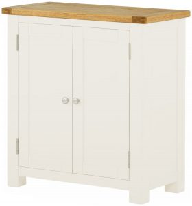 Classic Portland Painted White 2 Door Sideboard