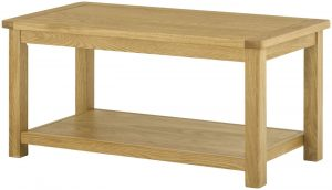 Classic Portland Oak Coffee Table