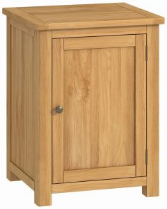 Classic Portland Oak Office 1 Door Cabinet