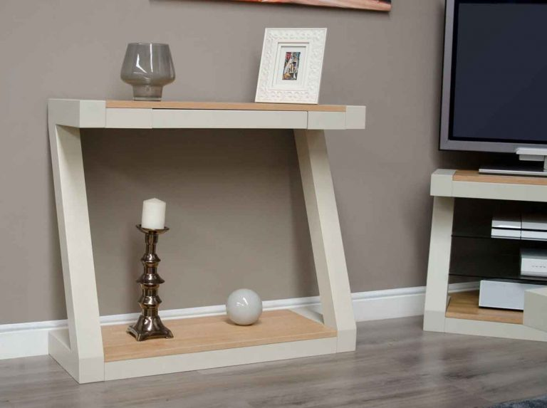 Homestyle Z Painted Hall Table with 1 Drawer
