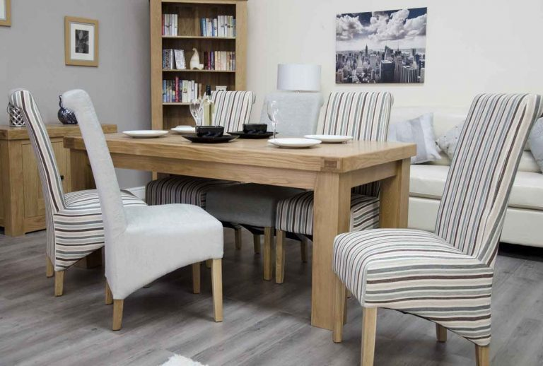 Homestyle Bordeaux Oak 6′ x 3′ Fixed Top Table