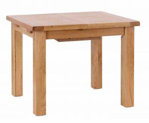 Besp-Oak Vancouver Select Oak Extending Dining Table 1m – 1.4m
