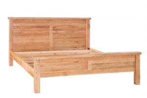 Besp-Oak Vancouver Select Oak 4'6″ Double Bed