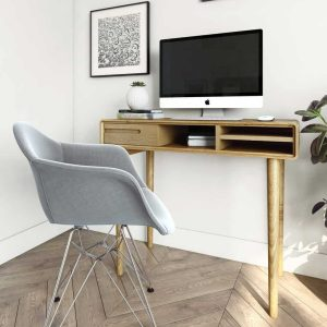 Homestyle Scandic Oak Small Computer Desk