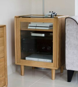 Homestyle Scandic Oak Hifi Unit