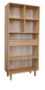 Homestyle Scandic Oak Large Bookcase