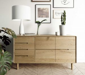 Homestyle Scandic Oak Large Sideboard