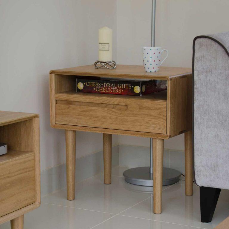 Homestyle Scandic Oak Lamp Table