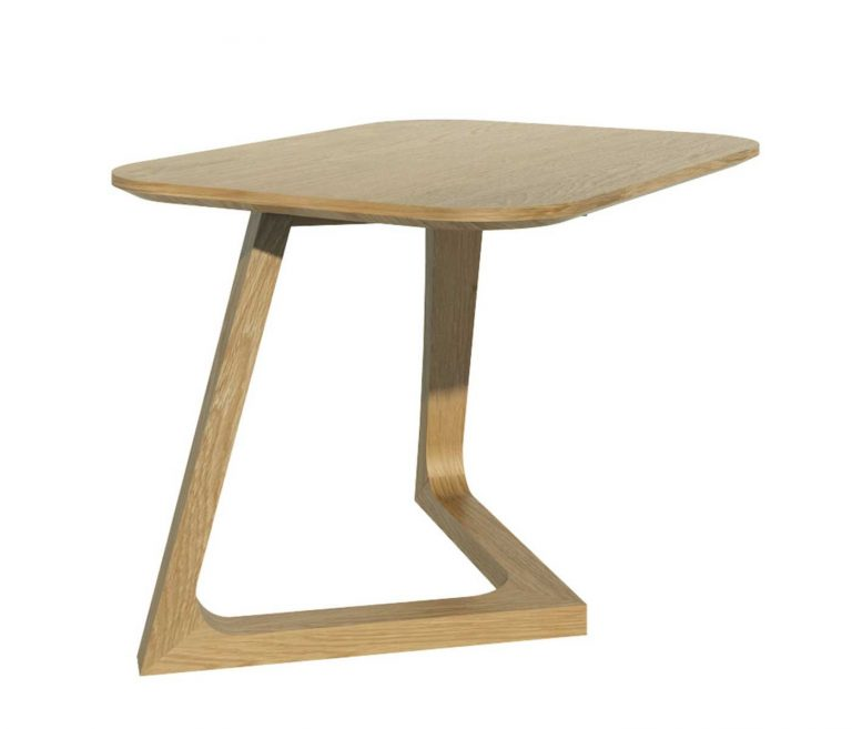 Homestyle Scandic Oak Small Lamp Table