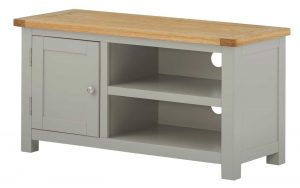 Classic Portland Painted Stone TV Cabinet