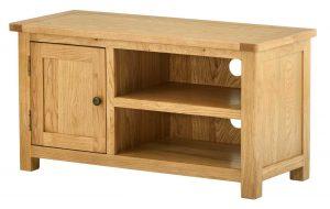 Classic Portland Oak TV Cabinet