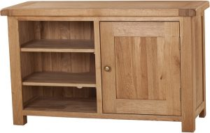 Suffolk Solid Oak Standard TV Cabinet | Fully Assembled