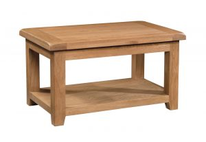 Somerset Waxed Oak 90cm Standard Coffee Table