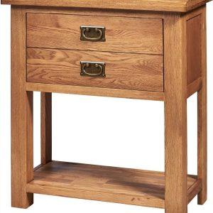 Richmond Light Oak Console Table    Fully Assembled