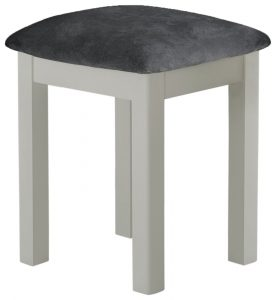 Classic Portland Painted Stone Stool