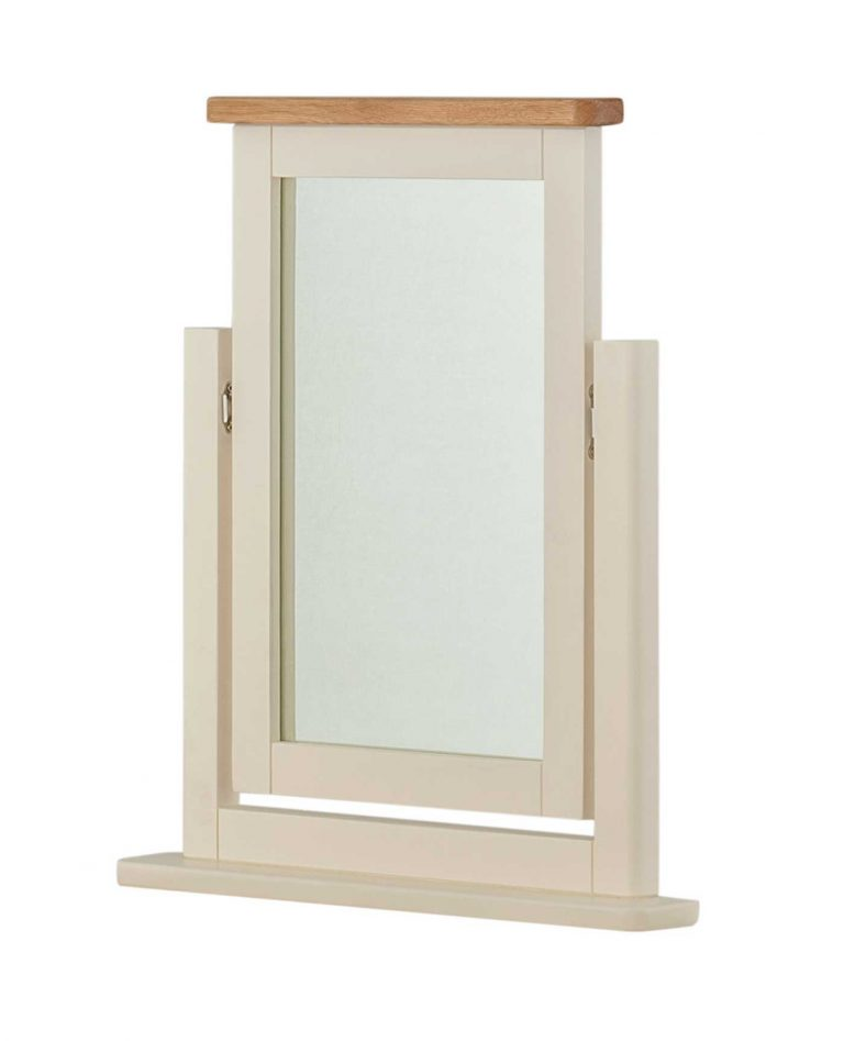 Classic Portland Painted CreamDressing Table Mirror