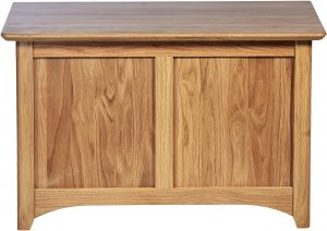 Cambridge Solid Oak Small Blanket Box | Fully Assembled