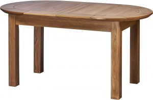Cambridge Solid Oak Large D-End Extending Dining Table