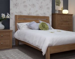 Homestyle Trend Solid Oak 4'6″ Double Bed