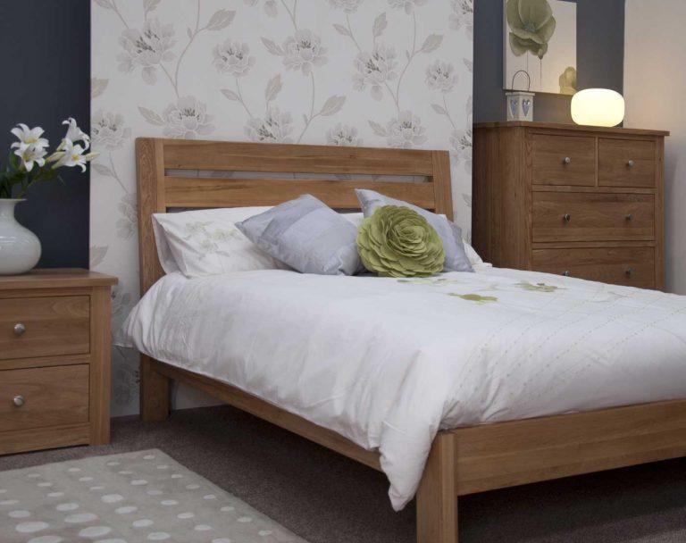 Homestyle Trend Solid Oak 6′ Super King Size Bed