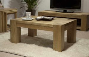 Homestyle Trend Solid Oak 3′ x 2′ Coffee Table