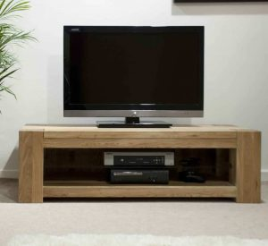 Homestyle Trend Solid Oak Standard Plasma Unit | Fully Assembled