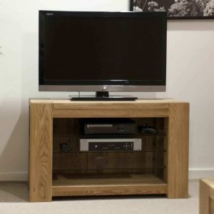 Homestyle Trend Solid Oak TV Unit | Fully Assembled