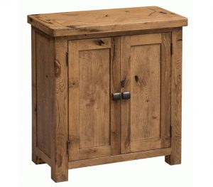 Homestyle Aztec Oak Small 2 Door Sideboard | Fully Assembled