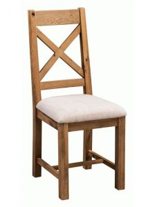 Homestyle Aztec Oak Dining Chair (Pair) | Fully Assembled
