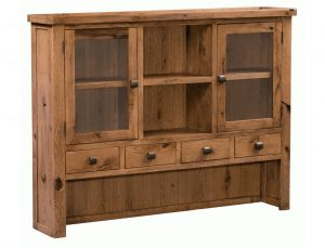 Homestyle Aztec Oak Dresser (Top Only) | Fully Assembled