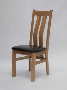 Maria Oak Dining Chair (Pair)