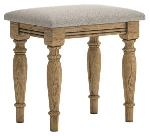 Versailles French Oak Stool