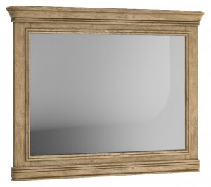 Versailles French Oak Wall Mirror – horizontal | Fully Assembled