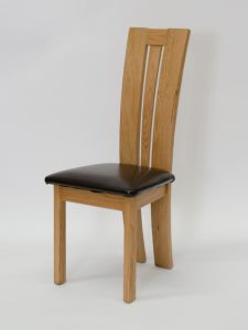 Venezia Oak Dining Chair (Pair)