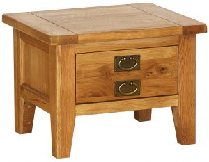 Besp-Oak Vancouver Petite Oak 1 Drawer Coffee Table| Fully Assembled